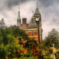 Photo taken at New York Public Library - Jefferson Market by Scottie R. on 9/11/2012