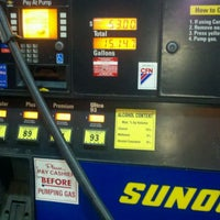 Photo taken at Sunoco by Vinny P. on 8/28/2011