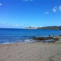 Photo taken at Dutch Beach by Dwayne O. on 3/11/2012