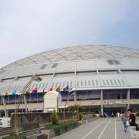 Photo taken at Nagoya Dome by yamatake on 5/28/2012