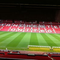 Photo taken at Manchester United Museum & Tour Centre by Kinny A. on 3/31/2011
