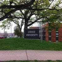 Photo taken at Drake University by Jonathan T. on 4/14/2012
