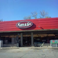 Photo taken at Kum & Go by Crystal H. on 9/9/2012
