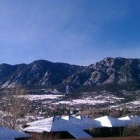 Photo taken at Cheyenne Mountain Resort by Chip M. on 12/30/2011