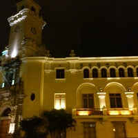 Photo taken at Municipalidad de Miraflores by Luis T. on 10/24/2011