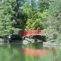 Photo taken at Sarah P. Duke Gardens by Stephanie L. on 5/19/2011