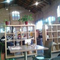 Photo taken at La Fàbrica by Marçal T. on 3/9/2012