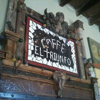 Photo taken at Caffe El Triunfo by David M. on 11/6/2011