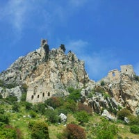 Photo taken at Saint Hilarion Castle by k t. on 4/23/2012
