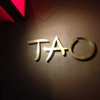 Photo taken at Tao by Brenda F. on 4/14/2012