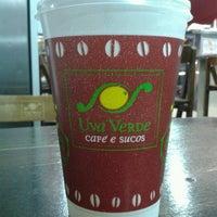 Photo taken at Uva Verde - Café e Sucos by Guilherme P. on 6/21/2012