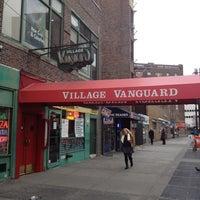 Photo taken at Village Vanguard by shijituku on 2/29/2012