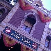 Photo taken at Disneyland Fire Department No. 1 by Kirk D. on 10/3/2011