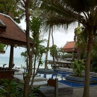 Photo taken at Samui Paradise Chaweng Beach Resort and Spa by Dmitri F. on 3/18/2012