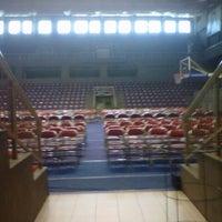 Photo taken at Britama Arena by Lufi H. on 9/8/2012