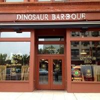 Photo taken at Dinosaur Bar-B-Que by Gizem B. on 5/8/2012