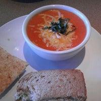 Photo taken at Zoës Kitchen by Brook B. on 1/2/2012
