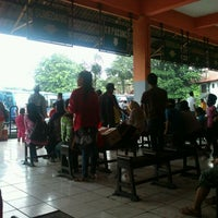 Photo taken at Terminal Kampung Rambutan by nafvina on 1/8/2012