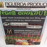 Photo taken at Figueroa Produce Market & Deli by Jeffro S. on 7/30/2011