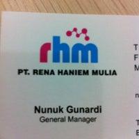 Photo taken at PT. Rena Haniem Mulia by Nunuk G. on 8/2
