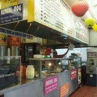 Photo taken at Papaya Dog by Melissa S. on 5/15/2012