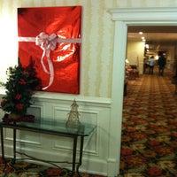 Photo taken at Inn at Pocono Manor by Joe O. on 11/27/2011