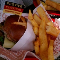 Photo taken at Red Robin Gourmet Burgers by Brandon M. on 10/11/2011