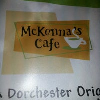 Photo taken at McKenna's Cafe by George on 8/13/2012