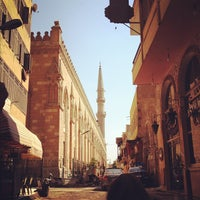 Photo taken at Khan Al-Khalili by Maxime C. on 7/6/2012