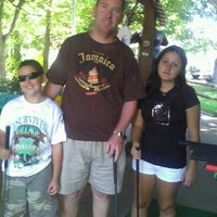 Photo taken at Maggie's Jungle Golf by Olivia T. on 8/18/2012