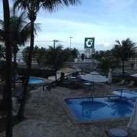 Photo taken at Mar Brasil Hotel Salvador by Tiago d. on 5/28/2012