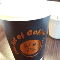Photo taken at The Art of Coffee by Dorota D. on 8/3/2012