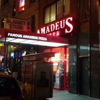 Photo taken at Famous Amadeus Pizza - Madison Square Garden by Bryan B. on 12/11/2011
