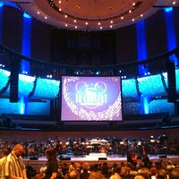 Photo taken at Francis Winspear Centre by Steve N. on 2/19/2012