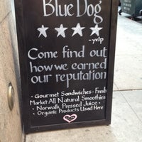 Photo taken at Blue Dog Cafe by Justin on 4/17/2012