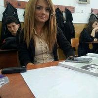 Photo taken at Colegiul Național Mihai Eminescu by Gabri S. on 11/10/2011