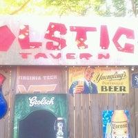 Photo taken at Solstice Tavern by Vanessa V. on 5/10/2012