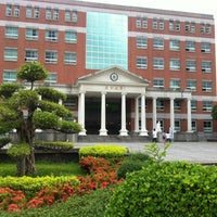 Photo taken at Asia University by Roger L. on 6/29/2012