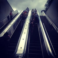 Photo taken at Smithsonian Metro Station by Jon B. on 6/14/2012