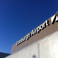 Photo taken at Edinburgh Airport (EDI) by Mike J. on 1/9/2012