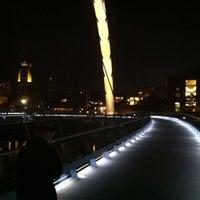Photo taken at Pedestrian Bridge by Sean H. on 8/5/2012