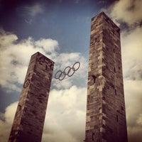 5/30/2012 tarihinde Johan W.ziyaretçi tarafından Olympiastadion'de çekilen fotoğraf