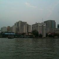 Photo taken at Wat Mahathat Pier by Sanit B. on 3/23/2012
