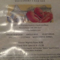Photo taken at Van Rensselaer's Restaurant and Raw Bar by Richard Francis W. on 9/1/2012