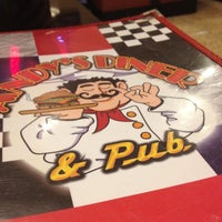 Photo taken at Andy's Diner & Pub by Dalia G. on 6/30/2012