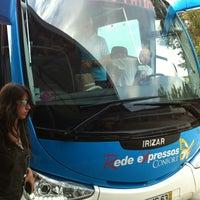 Photo taken at Terminal Rodoviário de Fátima (Cova de Iria) by Nicinha® E. on 9/8/2012