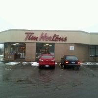Photo taken at Tim Hortons by CorEy B. on 12/26/2011
