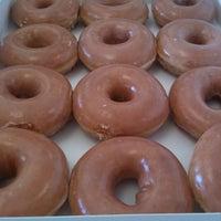 Photo taken at Krispy Kreme Doughnuts by Pam G. on 7/23/2011