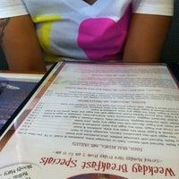 Photo taken at Mykonos Family Restaurant by whazthevillain on 8/16/2011
