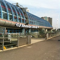 Photo taken at Amsterdam Sloterdijk Station by Moniek F. on 5/2/2012